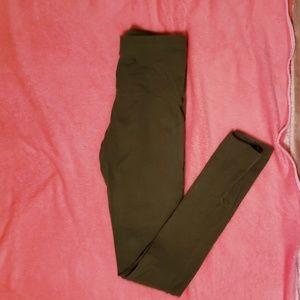 Leaf green leggings